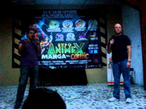 Bardo Miranda y Jorge Ornelas en la ExpoAnimex Manga vs Comic ( Parte 2 )