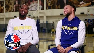 Kevin Durant and Steph Curry exclusive interview with Rachel Nichols | NBA Countdown | ESPN