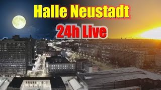 Live Cam Halle Saale -  Halle Neustadt - Germany  HD Streaming Webcam City