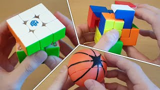 Special Edition GAN 356 XS / Shapeshifting Puzzles / Basketball Unboxing | SpeedCubeShop.com