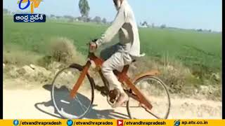 This Punjab Man's Stunning Wooden Cycle Is Viral..