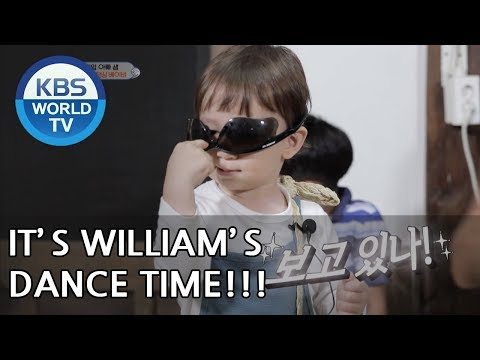 It's William's dance time! XD  [The Return of Superman/2018.06.17]