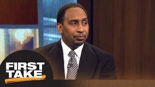 Stephen A. Smith shares what Clippers said about Rockets locker room altercation | First Take | ESPN