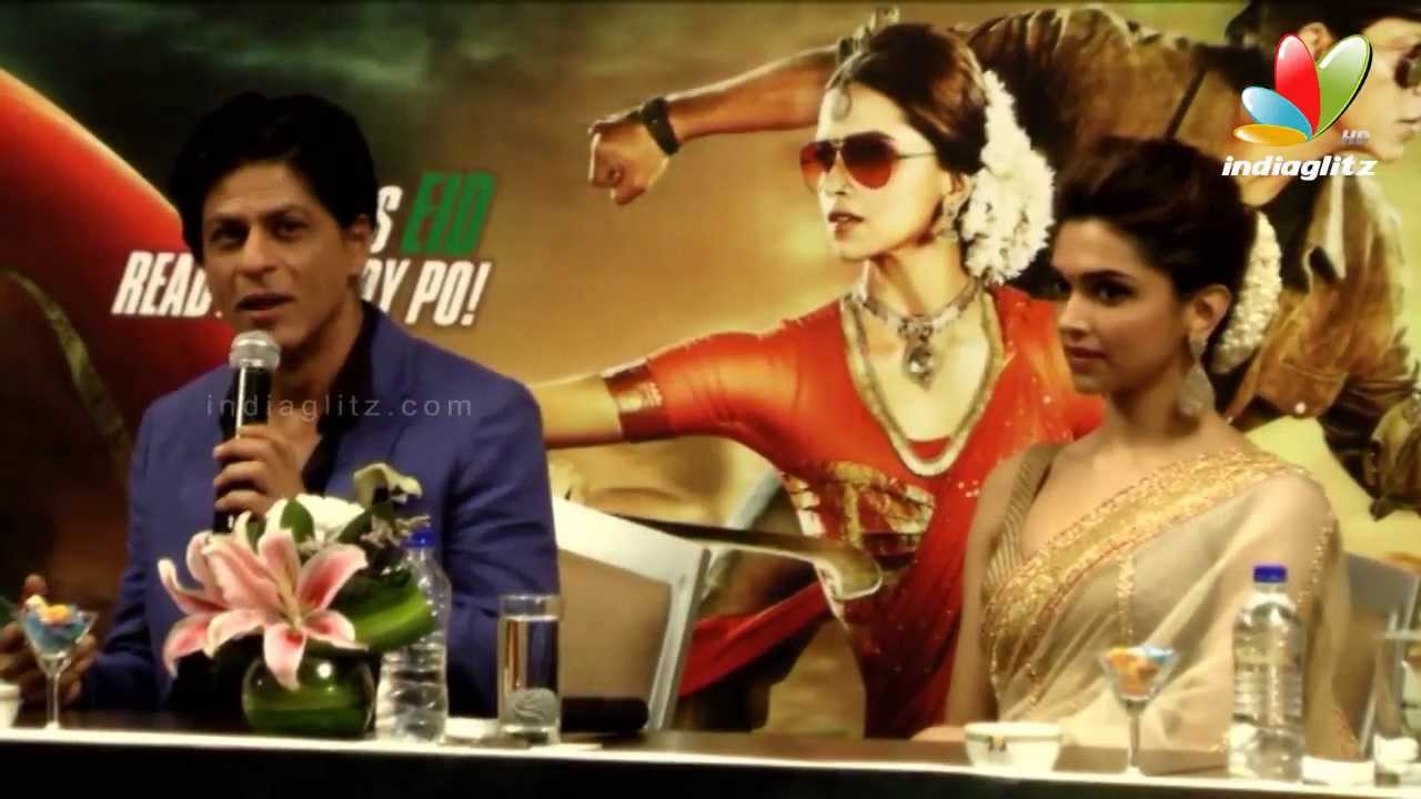 Chennai Express Movie Press Meet