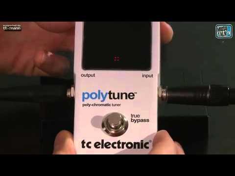 TC ELECTRONIC Polytune Bodenstimmgerät für Gitarre und Bass