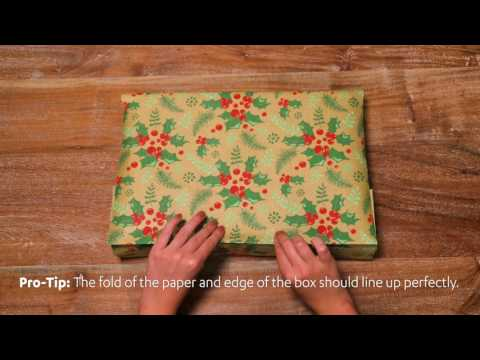 Behold the Fold!   Wrapping Presents Like a Pro