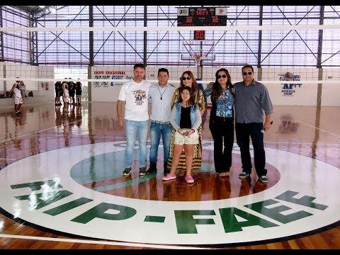 FAIP entrega Arena Poliesportiva em Marília