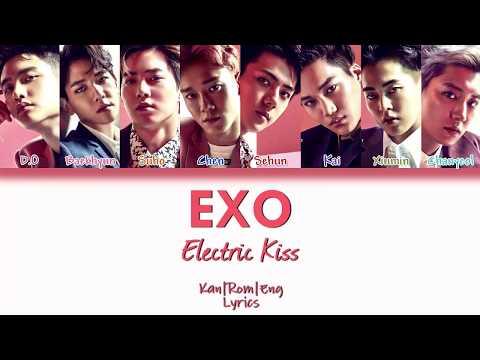 EXO - Electric Kiss (Kan/Rom/Eng Lyrics) カラオケ| 歌詞付き