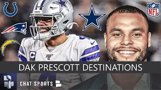 Dak Prescott Rumors: Top 7 NFL Teams That Could Sign In Free Agency Or Trade For Cowboys QB In 2020