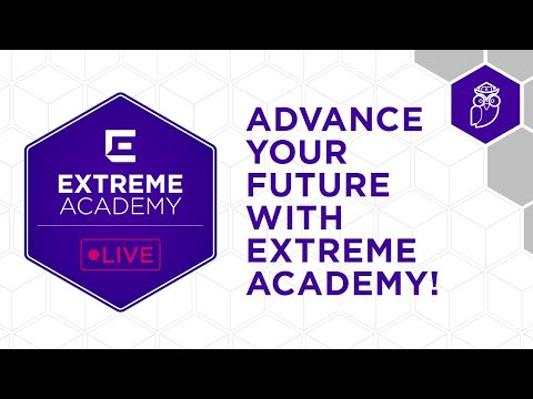 Our Extreme Academy Live courses are free to anyone anywhere looking to enter the networking industry. We run them live year-round; sign up for the next course at academy.extremenetworks.com.