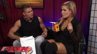 "Tyson Kidd & Natalya experience ""true love"" and Burger King Chicken Fries: Raw, March 23, 2015"