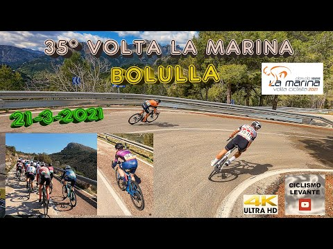 XXXV Volta La Marina Bolulla 21-3-2021 Ciclismo 4K