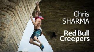Chris Sharma climbing a bridge! Red Bull Psicobloc comp!