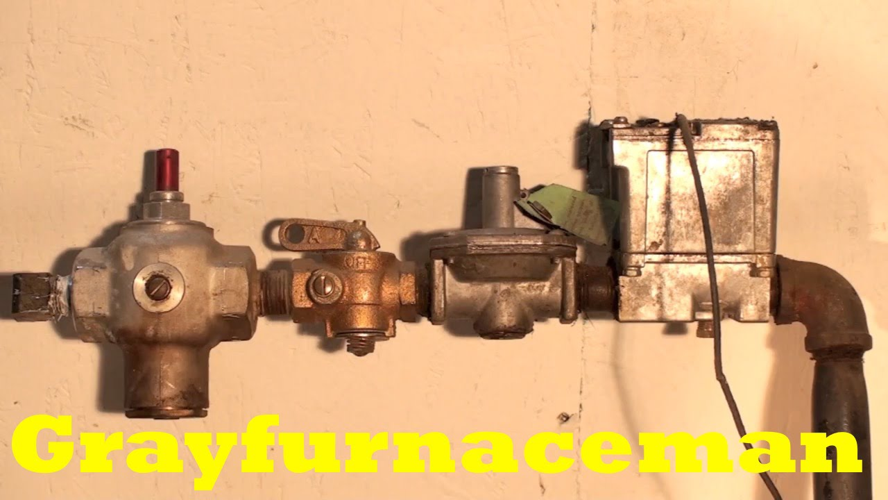 Antique Gas Furnace Gas Chain Youtube