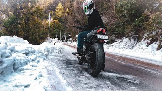 Mussoorie & Dhanaulti Snow | Winter Ride With Brother's | Part 2