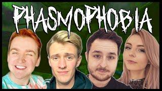 I Played Phasmophobia And This Happened..   Ft. LDShadowLady, Smallishbeans & Smajor