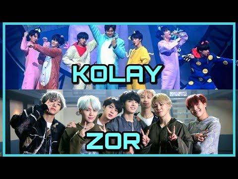 K-POP KOLAY VE ZOR DANSLAR!