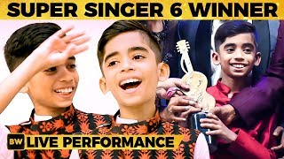 Super Singer 6 Title Winner Hrithik's LIVE Singing Performance - WOW! What a Voice! | SS 101