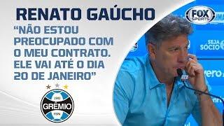 GRÊMIO VENCE E COMPLICA O CRUZEIRO! Renato Gaúcho fala ao vivo