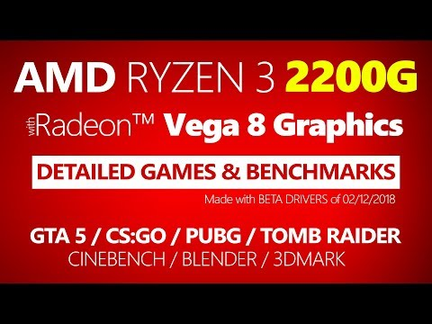 video Amd Ryzen 3 2200G