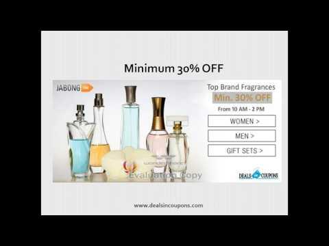 Minimum 30% OFF on Branded Fragrance
