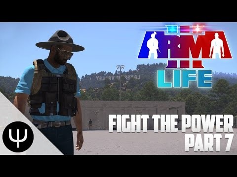 ARMA 3: Life Mod — Fight the Power — Part 7 — Springfield Shootings!