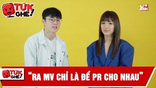 """Cara """"Nếu PR cho nhau thì đã làm MV từ rất sớm""""   Tứk Ghê   Bản Tin Giải Trí Showbiz Việt"""