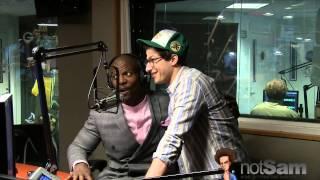 Andy Samberg invades Terry Crews & Sam Roberts on SiriusXM