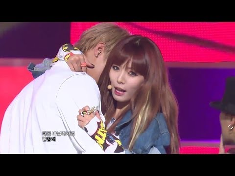 【TVPP】Hyuna(4MINUTE) - Ice Cream, 현아(포미닛) - 아이스크림 @ Goodbye Stage, Music Core Live