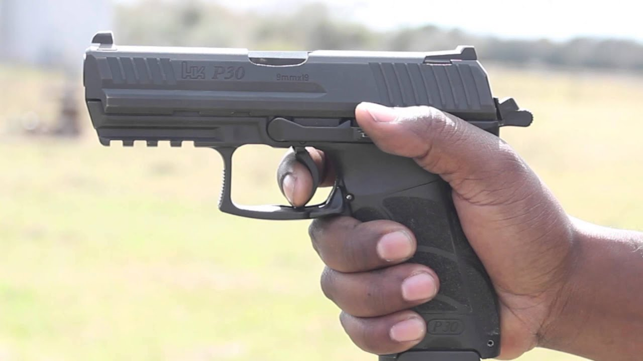 Hk P30 9mm Shooting Review Youtube