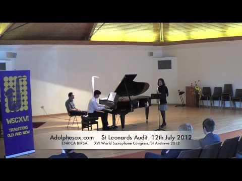 WSCXVI ENRICA BIRSA   Funky Sonata by Roberto di Marino