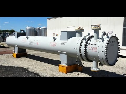 Unused- Ilsung Corporation 4 Pass U Tube Shell & Tube Heat Exchanger - stock # 48291046