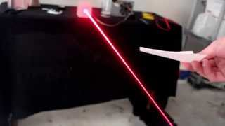 Building a Burning Laser from an Old Computer!!!
