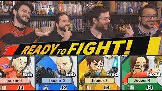 FRED, SEB, BENZAIE ET BOB SONT SUR UN BATEAU... -Super Smash Bros Ultimate-
