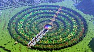 Minecraft Timelapse   Under Ground Farm Base
