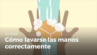 Cómo lavarse bien las manos