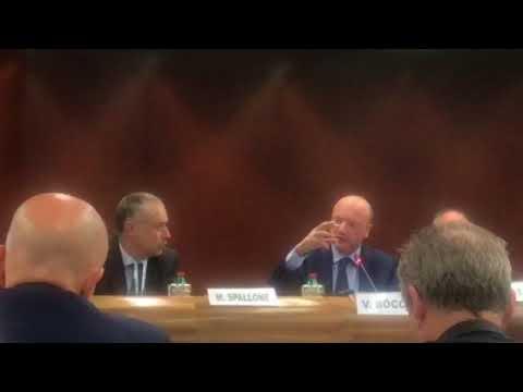 L'intervento di Vincenzo Boccia all'assemblea di Sgi