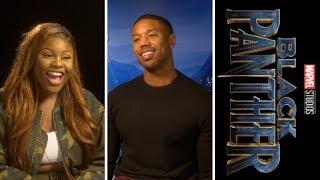 Black Panther: Michael B. Jordan - Erik KillMonger — Exclusive Interview