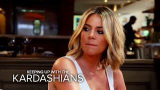 KUWTK | Khloé Kardashian Finds Out About Rob and Blac Chyna's Big Fight | E!
