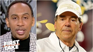 Should there be an asterisk on this season for Alabama? | First Take
