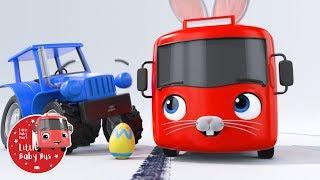 Little Baby Bus - Easter Bunny   Kids Cartoons   Children's Stories