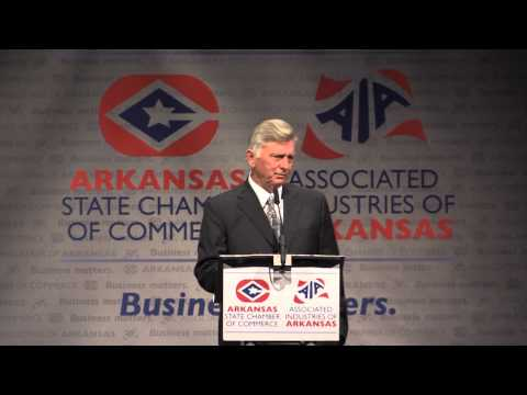 Gov. Mike Beebe's State Chamber AIA Farewell