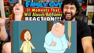 """31 Moments From """"FAMILY GUY"""" That Will Always Be Funny - REACTION!!!"""