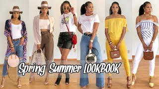 SPRING/SUMMER LOOKBOOK  2019 | HOW TO STYLE FASHSIONABLE TRENDS + MIXING HIGH & LOW FASHION BRANDS
