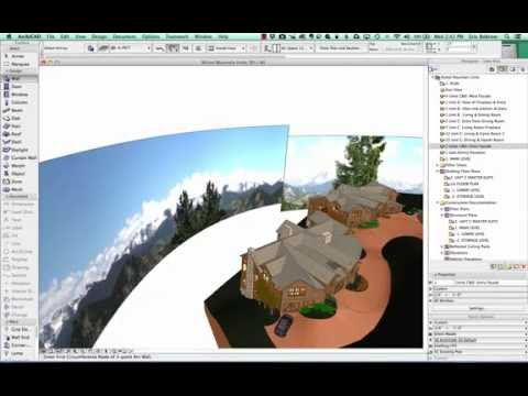 ArchiCAD Tutorial | More Realistic Interior Views Using Backdrop Photos for Context