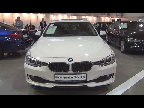 BMW 320d xDrive Alpin White (2015) Exterior and Interior in 3D