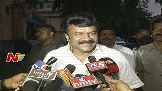 Talasani speaks after meeting with Danam Nagender..