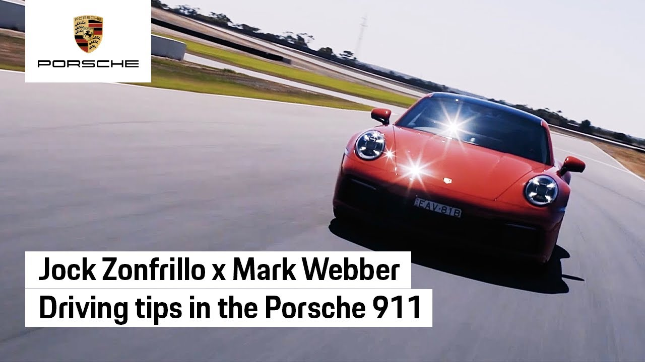 When Jock Zonfrillo met Mark Webber and the new Porsche 911