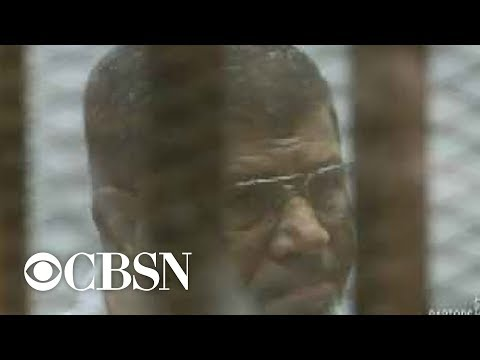 Former Egyptian President Mohammed Morsi dies; was imprisoned since 2013