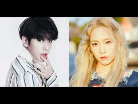 160831 Taeyeon and Baekhyun spotted on the same team during 'SM Town Olympics' in Hawaii